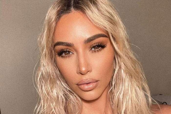 Kim Kardashian Flaunts Her Curvy Beach Body In New Quarantine Workout Photos