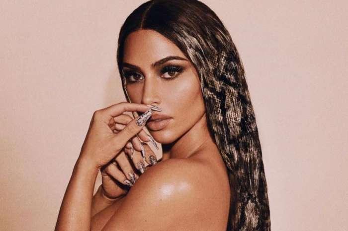 Kim Kardashian Shows Off Snakeskin Print Hair But Some Noticed A Huge Photoshop Fail