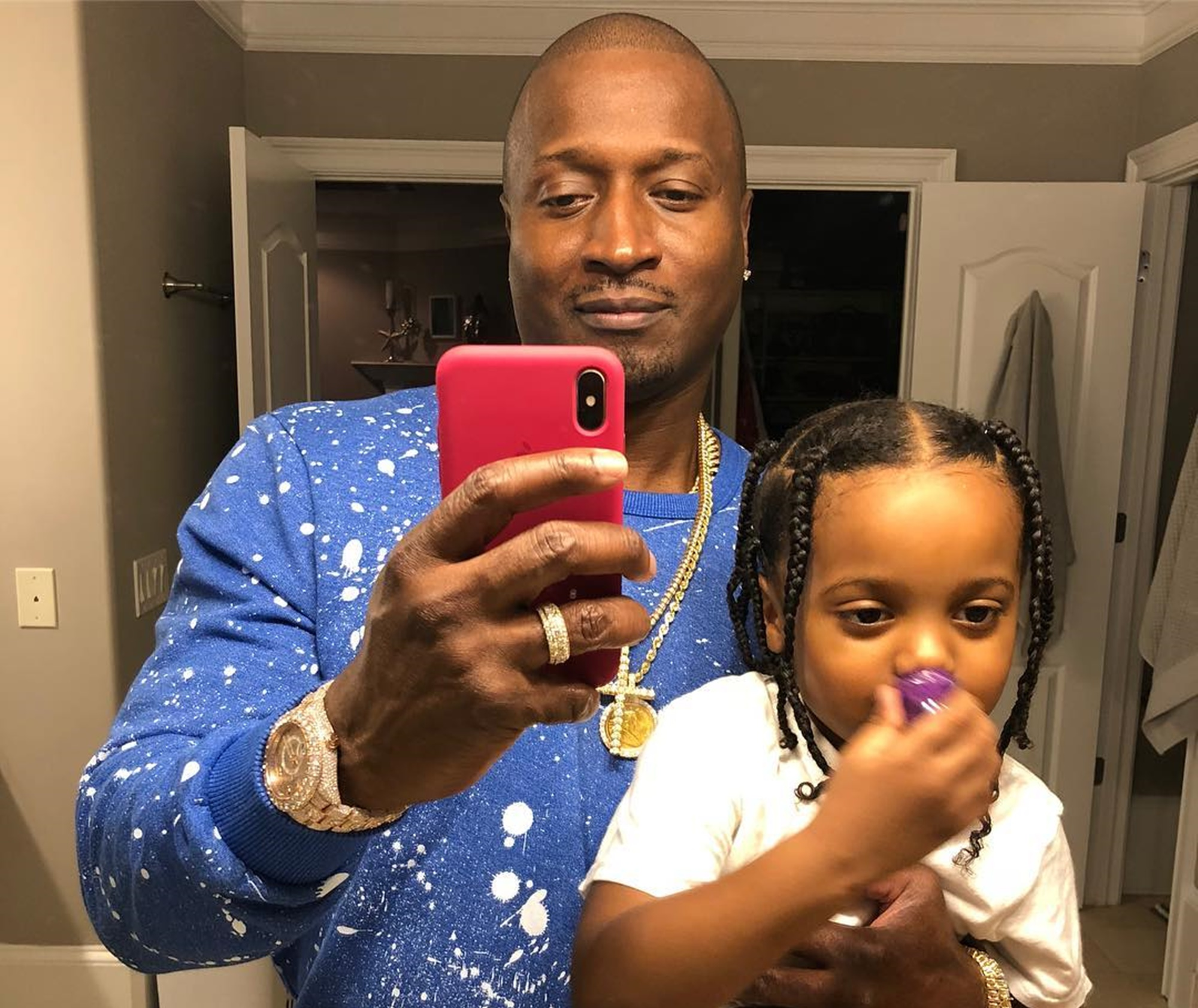Kirk Frost Reveals His And Rasheeda Frost's Son, Karter's Swimming Tricks! Check Out The Video