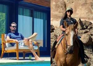 Kourtney  Kardashian Flaunts Her Beach Body While Vacationing With Scott Disick And Their Kids