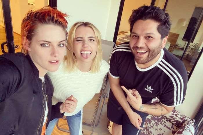 Did Kristen Stewart And Emma Roberts Get Their Hair Done In Quarantine?