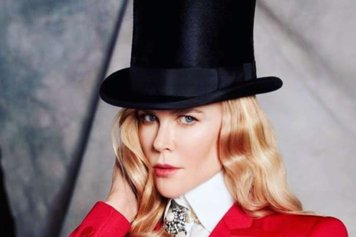 Nicole Kidman Is A Picture Of Beauty With A Rose In Her Hair After It's Revealed She Broke Her Ankle During Lockdown