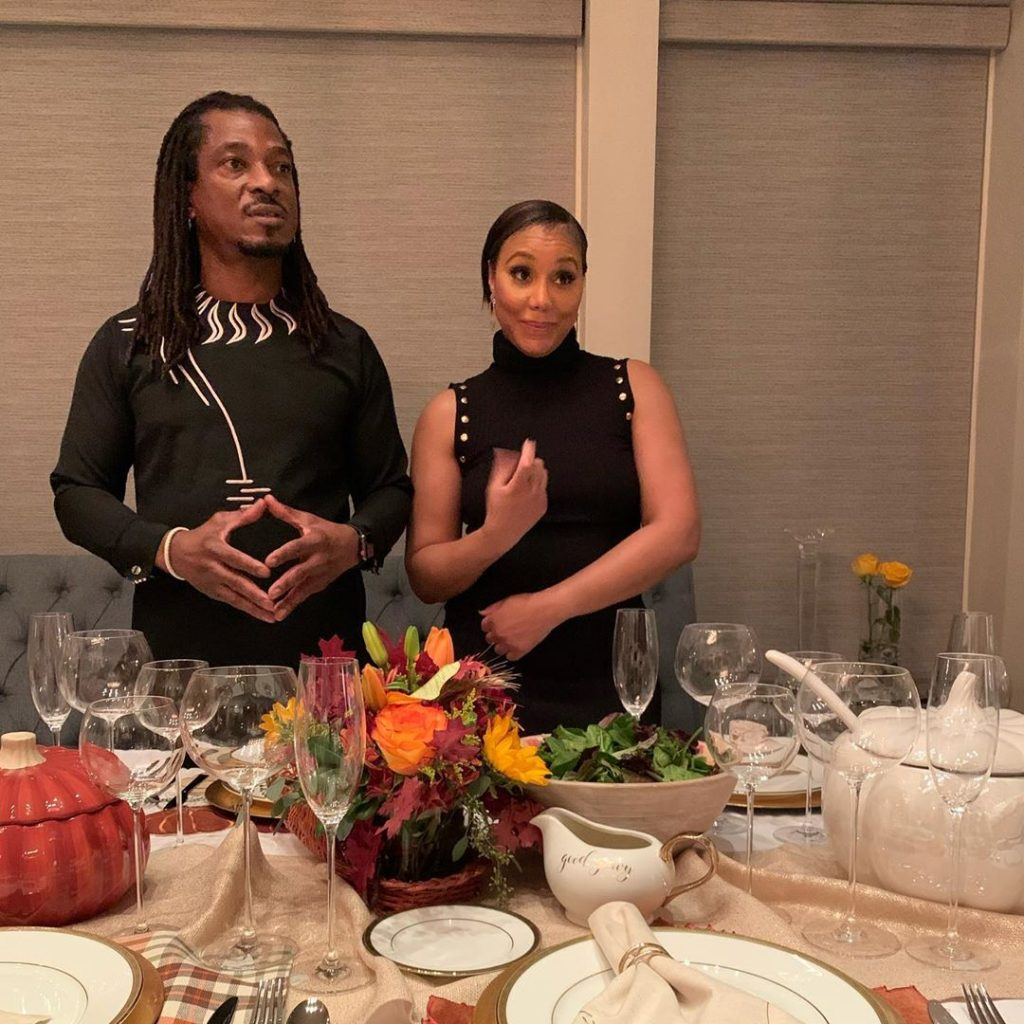 Tamar Braxton And David Adefeso Had A Special Edition Of Their Series 'Quarantined And Coupled' Dedicated To George Floyd