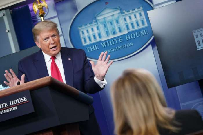 Donald Trump Snaps At 'Very Rude' CBS Reporter Paula Reid After Asking About His Plan Concerning The 36 Million Americans Who've Lost Their Jobs In The Past 2 Months!