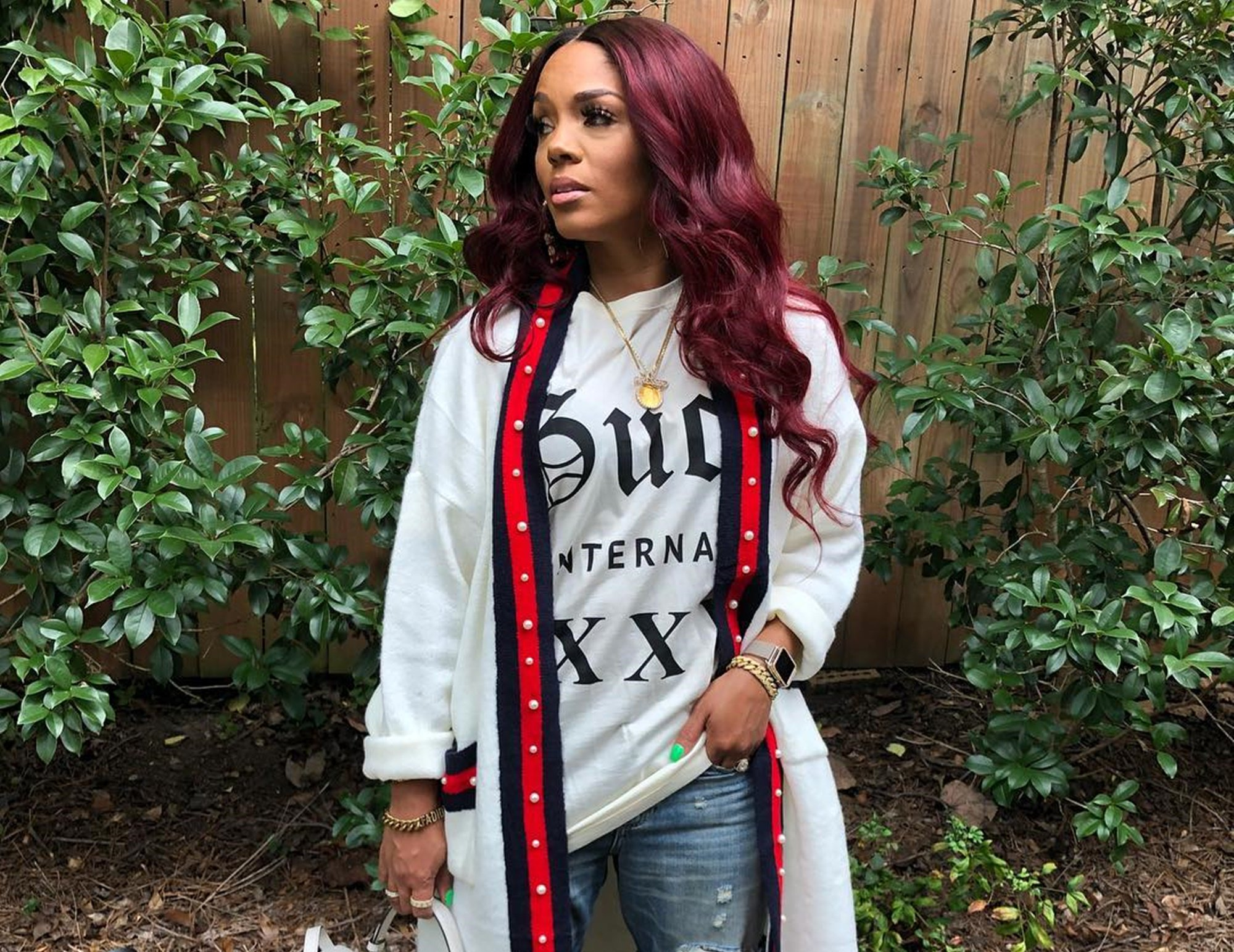 Rasheeda Frost And Her Mom Are Showing Off Their Elegant Outfits For Mother's Day - See The Photo