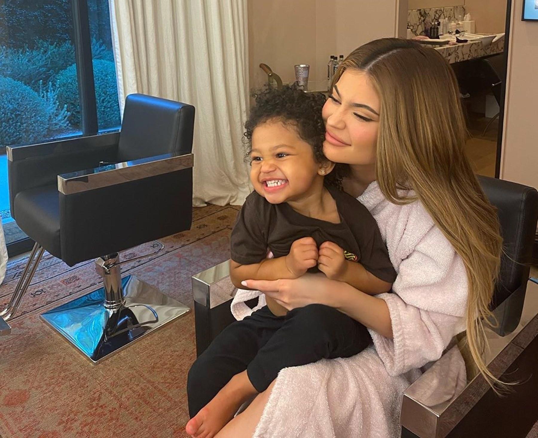 Stormi Webster Kylie Jenner Travis Scott Mother's Day