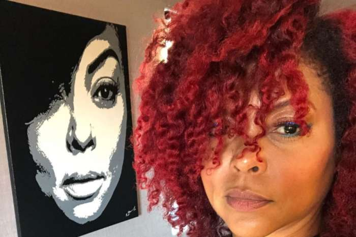 Taraji P. Henson Shows Off Ruby Red Hair Color In New Photos As She Launches TPH By Taraji Hair Care Line
