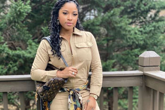 Toya Johnson's Mood On Her Patio Is Her Every Fan's Dream - Check Out Her Latest Pics