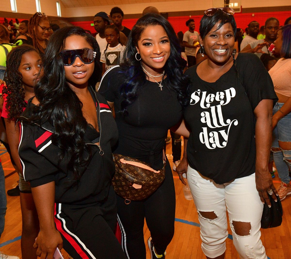 Toya Johnson Honors Her Mom - Check Out The Video She Chose To Share