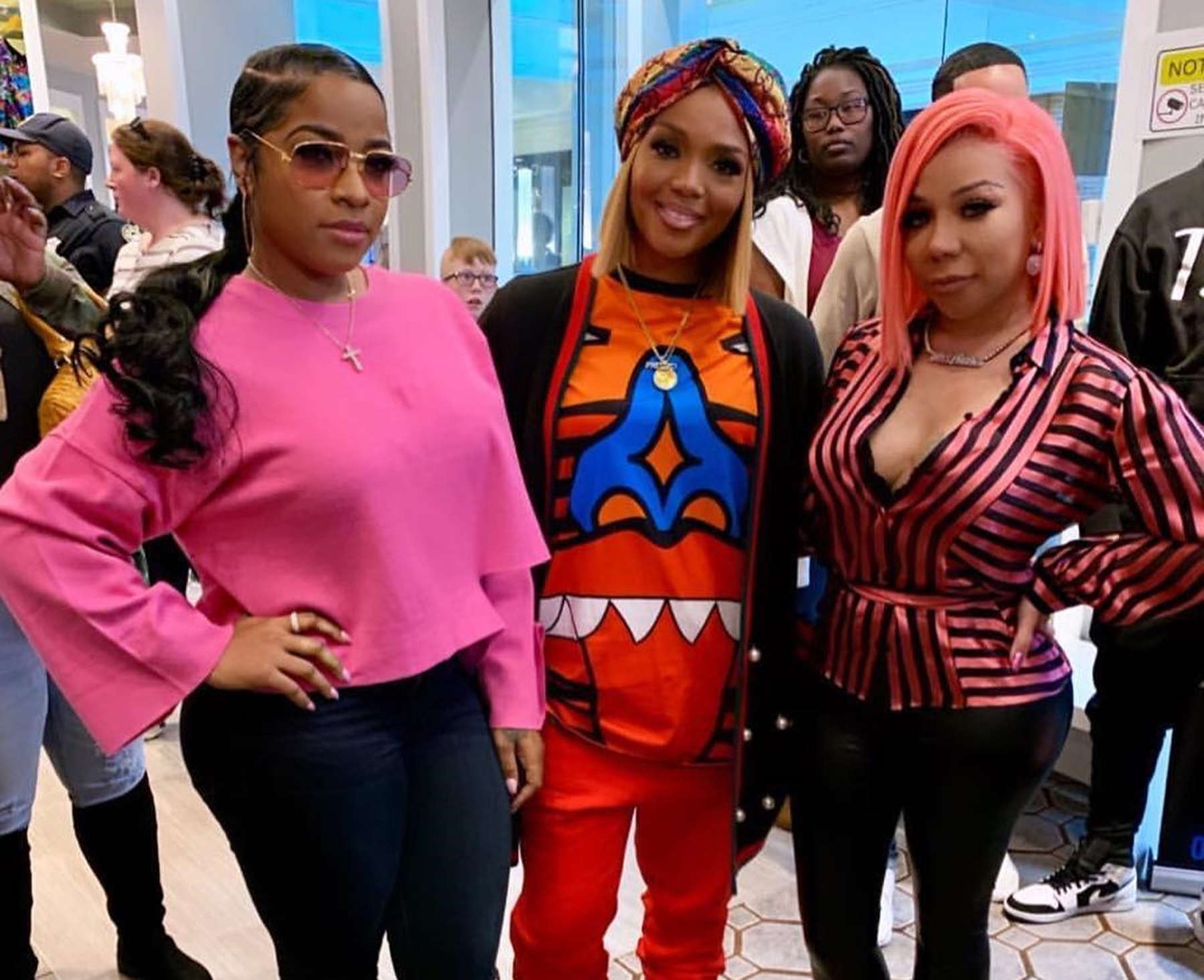 Tiny Harris And Rasheeda Frost Share Some Thoughts About The George Floyd Case