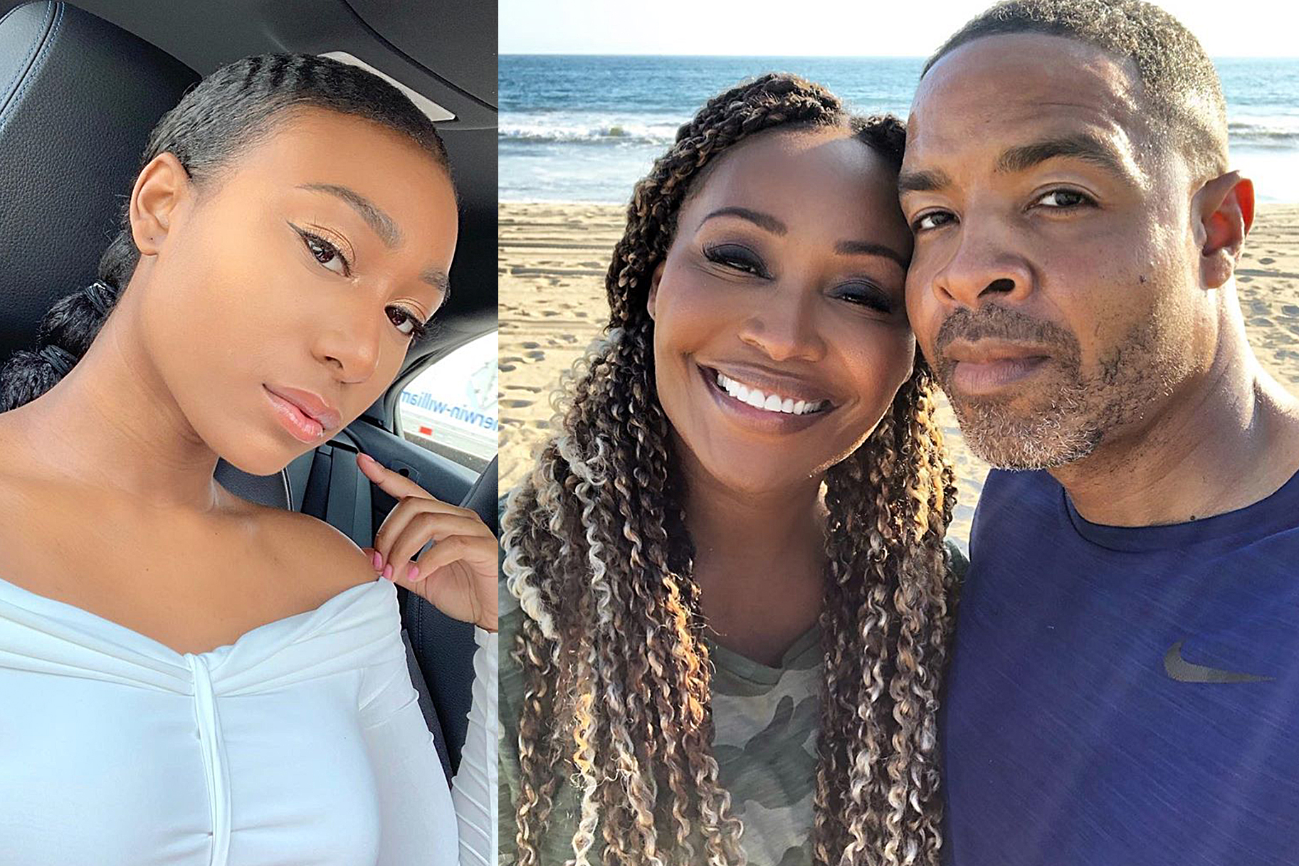 Cynthia Bailey And Her Daughter, Noelle Robinson, Prank Mike Hill - Check Out The 'Arguing With My Mom' Prank That Will Make Your Day!