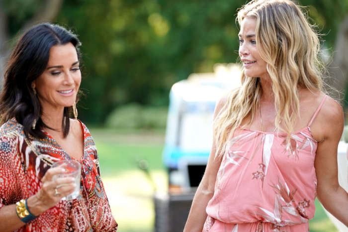Kyle Richards Gets Dragged After Calling Denise Richards A Ragamuffin -- Issues An Apology