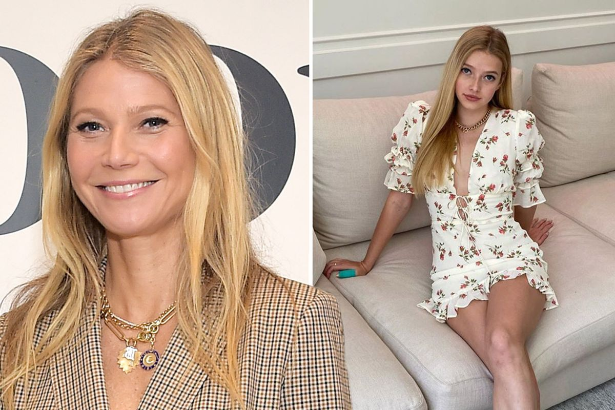 Gwyneth Paltrow Shares New Photos of Daughter Apple on Her 16th Birthday!