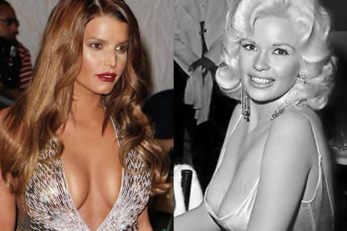 Jessica Simpson 'Feels Like Jayne Mansfield' And Shares Photo Of Sophia Loren Giving The Blonde Bombshell The Eye Due To Her Curves