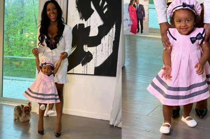 Kenya Moore's Fans Love Her Genuine Devotion For her Baby Girl, Brooklyn Daly