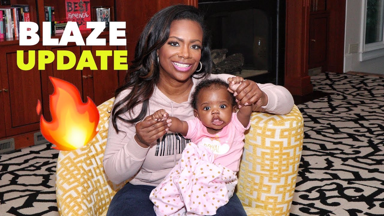 Kandi Burruss' Daughter, Blaze Tucker's 6 Month Anniversary Video Will Make Your Day!