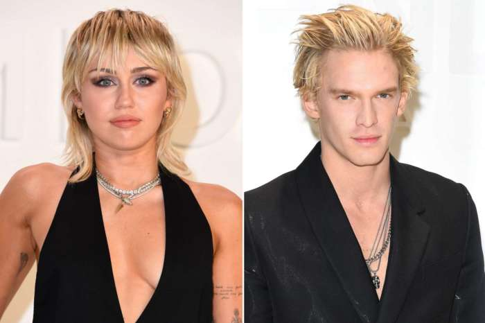Miley Cyrus Cuts Cody Simpson's Hair To Match Her Own!