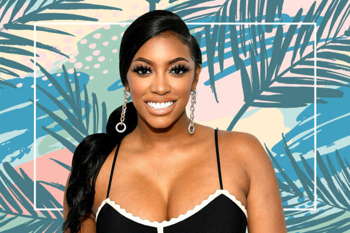 Porsha Williams Leaves Nothing To The Imagination While Flaunting Her Curves In This Gorgeous Silky Dress - See The Juicy Clips!