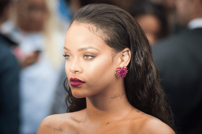 Rihanna's Racy Lingerie Photo On The Terrace Shows Fans What Their Queen Is Working With