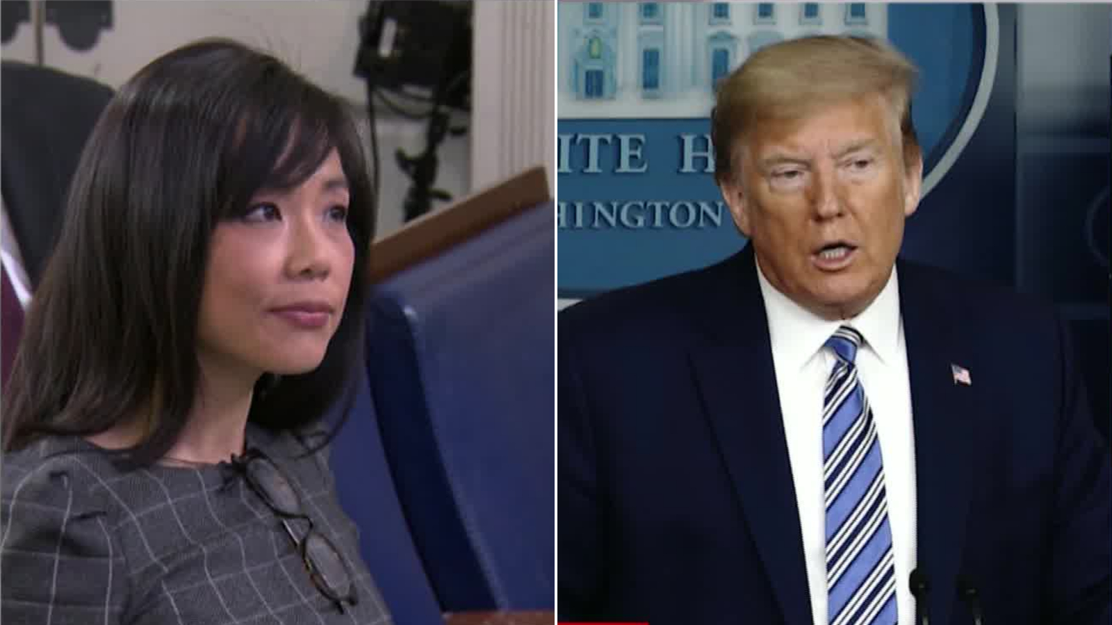 'Ask China': Trump abruptly ends coronavirus briefing after reporter questions his response