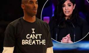 Vanessa Bryant Posts Photo Of Kobe Wearing 'I Can't Breathe' T-Shirt And Responds To Troll!