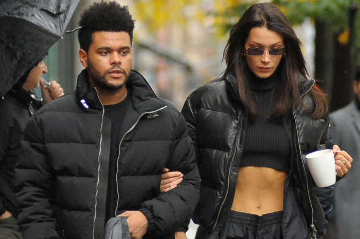 Bella Hadid And The Weeknd Are 'Keeping In Touch'