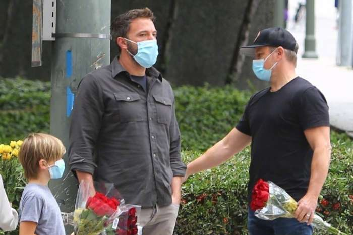 Ben Affleck, Matt Damon, And Their Families Visit Breonna Taylor Memorial