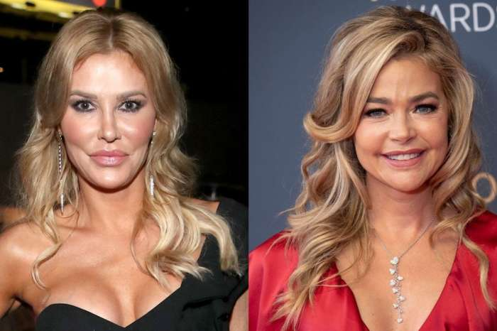 Brandi Glanville Doubles Down On Denise Richards Kiss Photo As Some Fans Doubt It's Really Her - '1 Million Percent DR!'