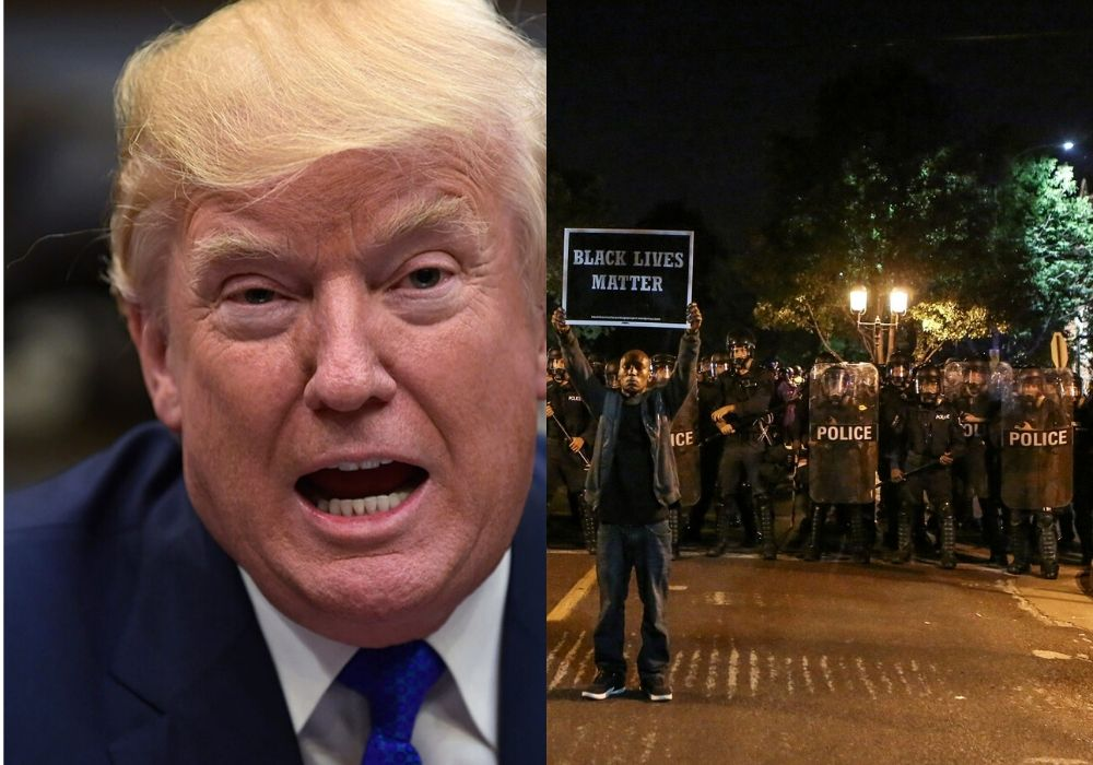Donald Trump and Riots