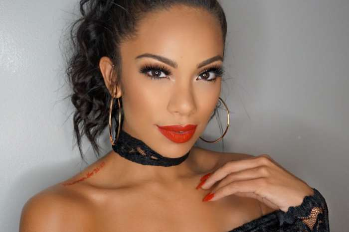 Erica Mena Amazes In This Pair Of Tight Jeans - Check Out Her Best Asset That Keeps Safaree Happy!