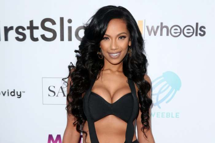 Erica Mena's Latest Jaw Dropping Photo Has Fans In Awe - She Looks Gorgeous In This Black Lace Corset And NeNe Leakes Has Something To Say