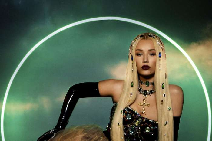Iggy Azalea Stuns In New Vid Showing Off Her Glam Makeup And Blonde Hair While In Nothing But A White Robe