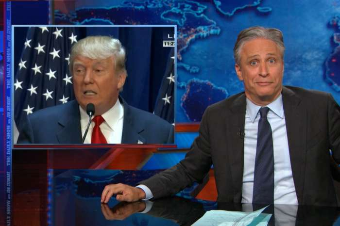 Jon Stewart Slams Donald Trump After He Re-Tweets 'White Power' Clip!