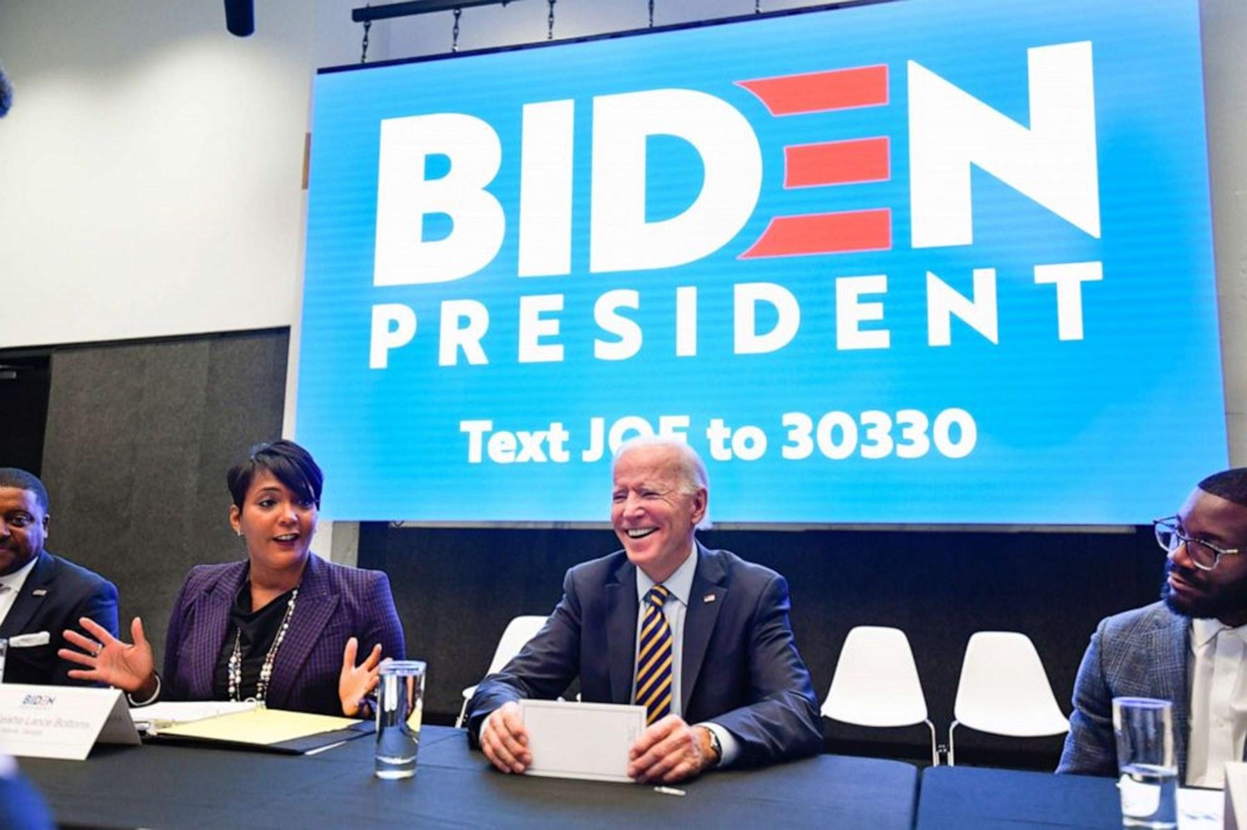 Keisha Lance Bottoms Joe Biden VP