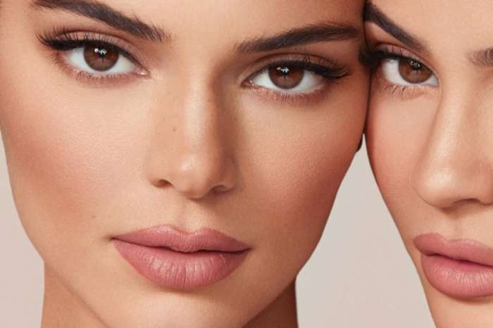 Kendall & Kylie Jenner Put On Racy Display To Promote New Makeup Line