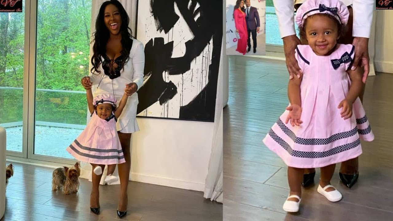 Kenya Moore's Baby Girl, Brooklyn Daly Is Thriving! Check Out This Video