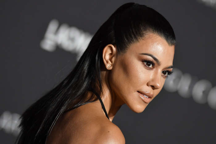 Kourtney Kardashian Spotted Wearing Scott Disick's Flannel In New IG Post