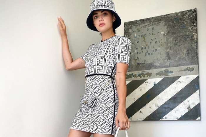 Lucy Hale Is Dazzling In Fendi