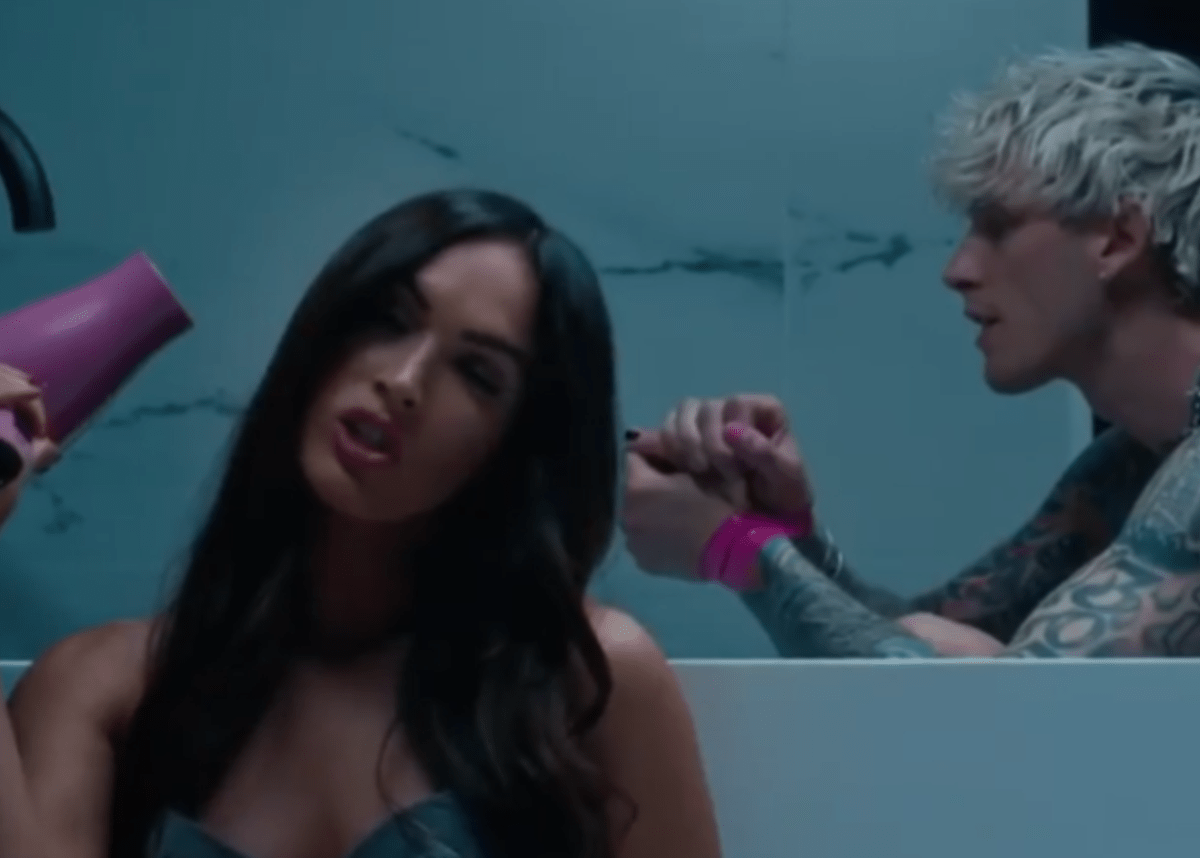 Machine Gun Kelly says he's 'in love' amid Megan Fox romance