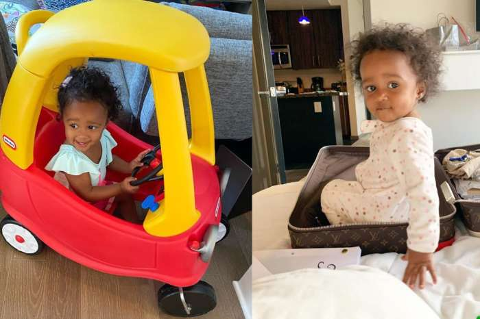 Kenya Moore's Photo Of Baby Girl, Brooklyn Daly Will Brighten Your Day