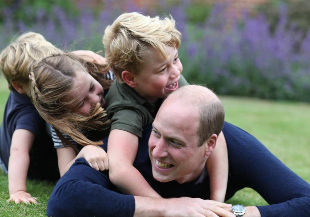 Prince William Celebrates His Birthday & Father's Day With Sweet Pics Taken By Kate Middleton