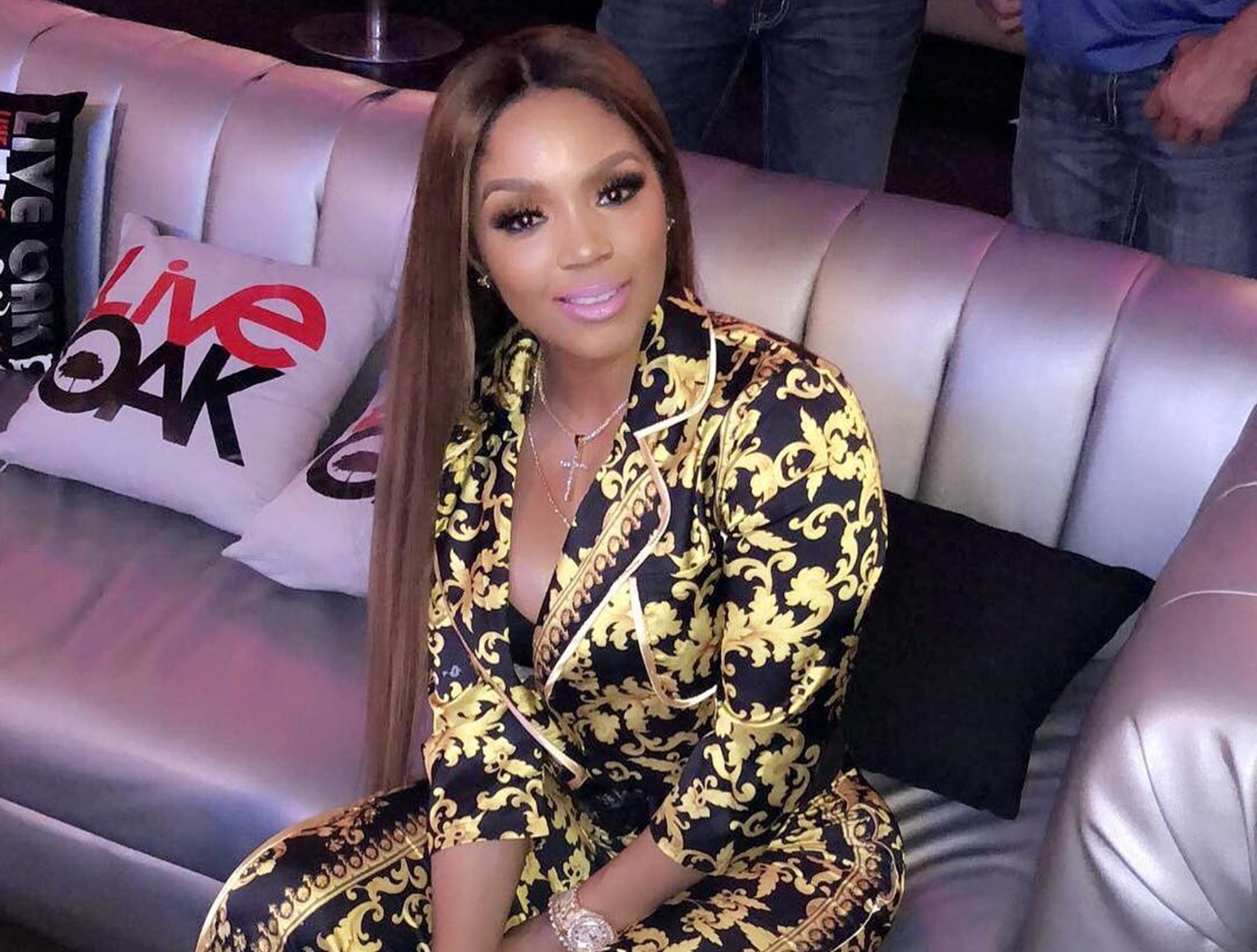 Rasheeda Frost Does A Tik Tok Together With Her Son, Karter And Fans Cannot Have Enough Of Him