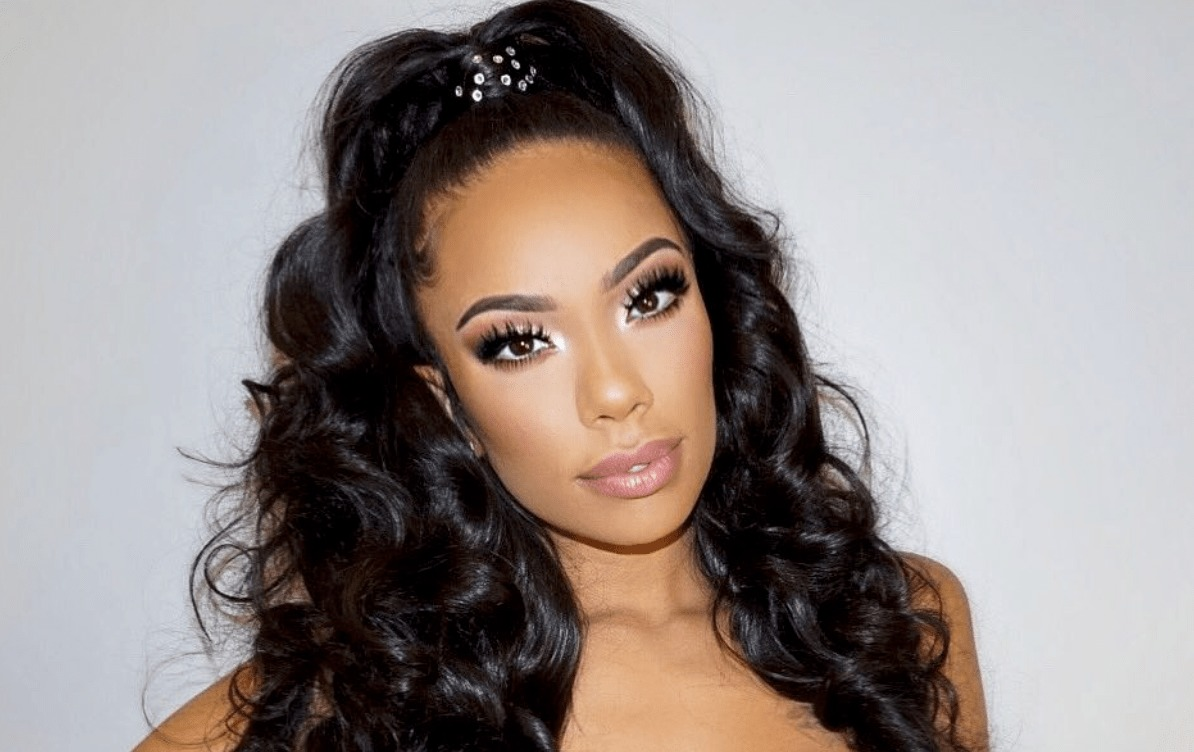 Erica Mena Leaves Nothing To The Imagination In This Skimpy Yellow Top And Super Tiny Shorts - Check Out Why Safaree Calls Her 'God's Gift'