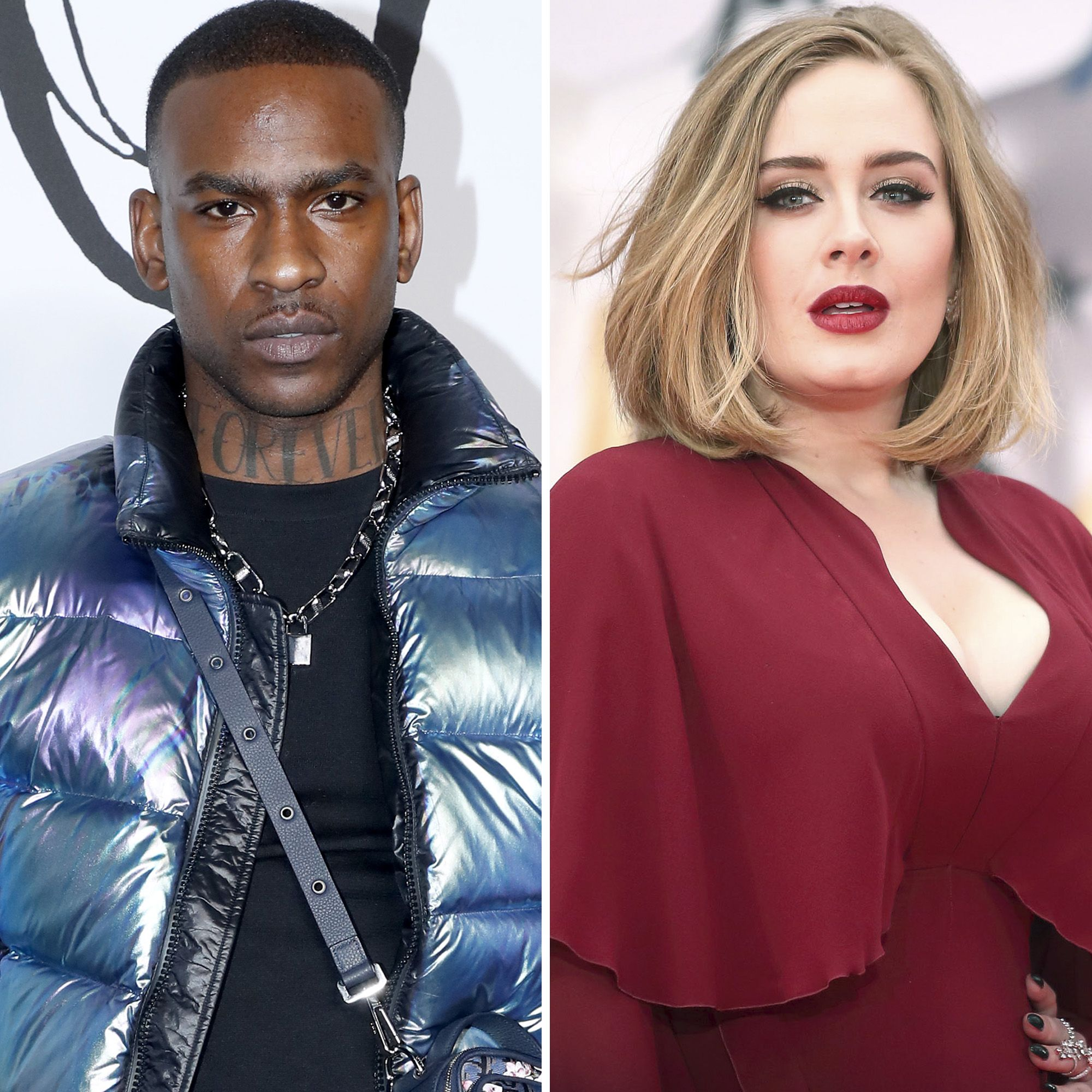 Are Adele & Skepta Dating? Instagram Clues Hint at Their Relationship