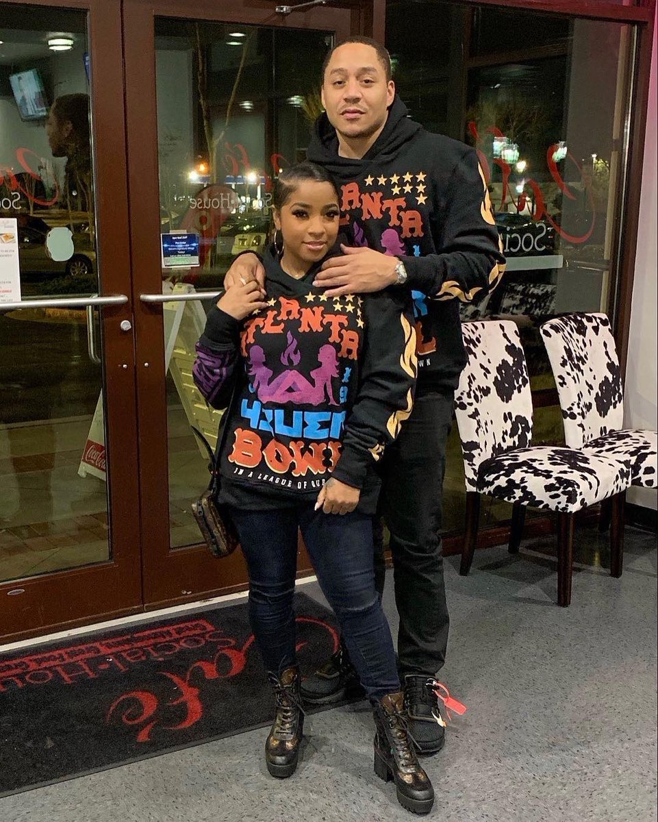 Toya Johnson And Robert Rushing Keep Promoting The Weight