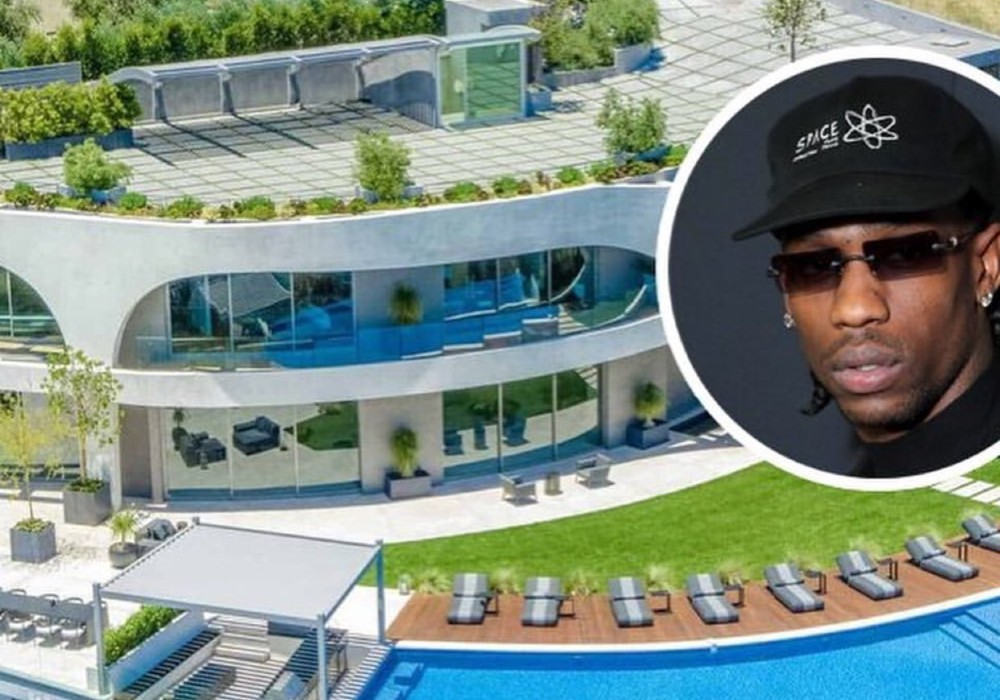 Travis Scott Buys Massive Hollywood Hills Mansion Near Kylie Jenner's New Property