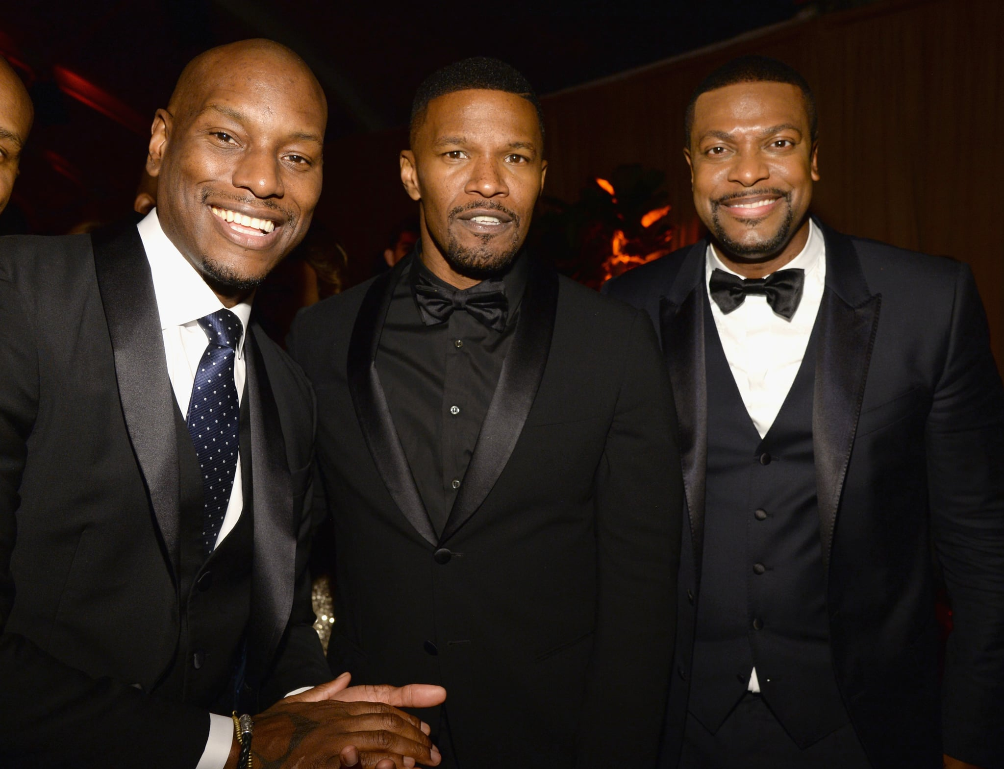 Tyrese and Jamie