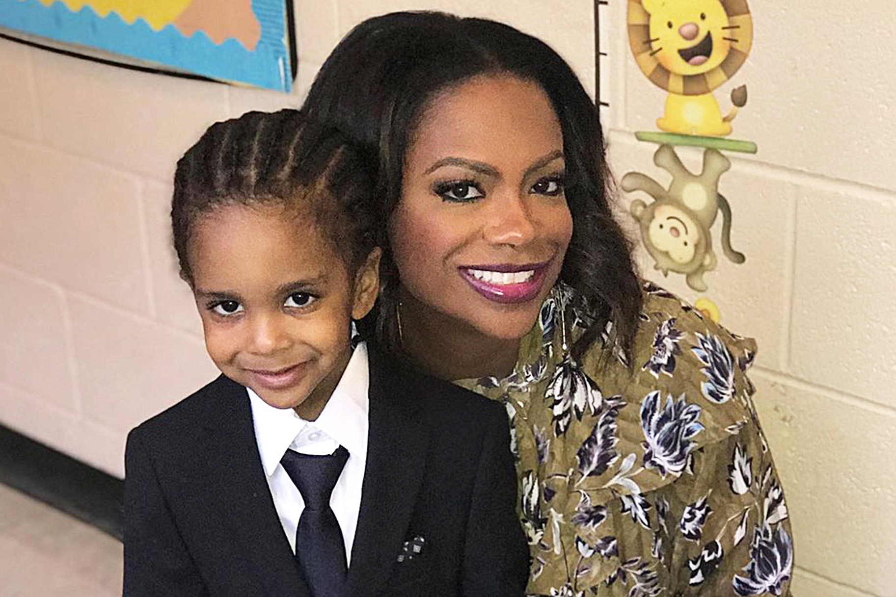 Kandi Burruss Makes Fans Smile With These New Photos Of Her Son, Ace Wells Tucker