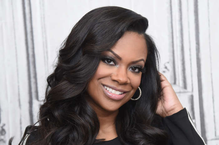 Kandi Burruss Spreads The Word About 'Black Out Tuesday'