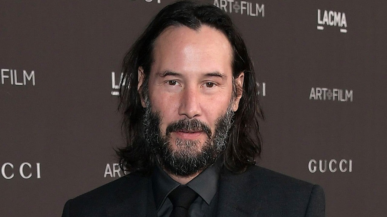 Keanu Reeves is auctioning off a zoom date? Take my money!